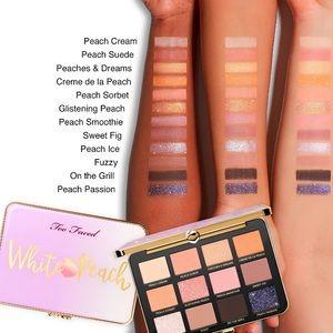 Too Faced Makeup - BNIB Too Faced White Peach Palette